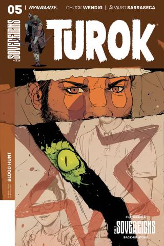 Turok #5 (Sarraseca Cover)