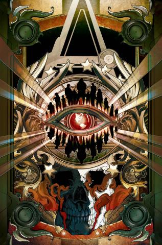 Conspiracy #2 (Doppleganger Colapietro Cover)