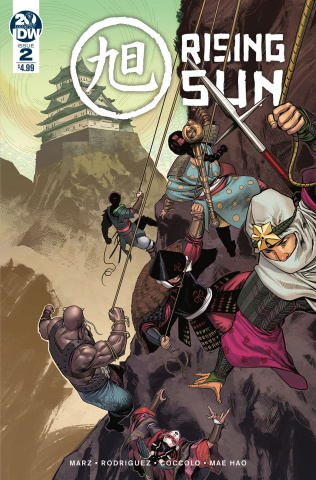 Rising Sun #2 (Coccolo Cover)