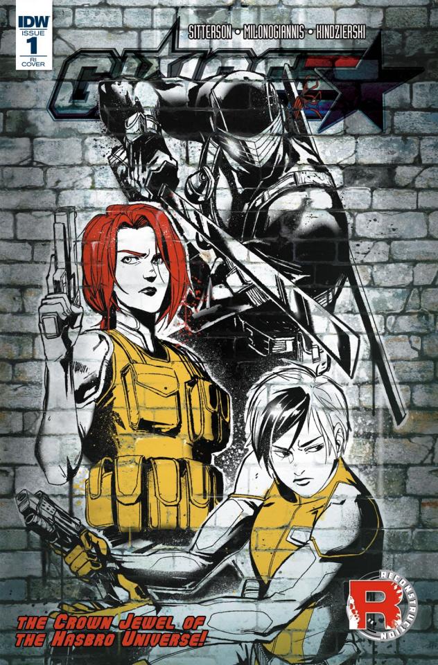 G.I. Joe #1 (10 Copy Cover)