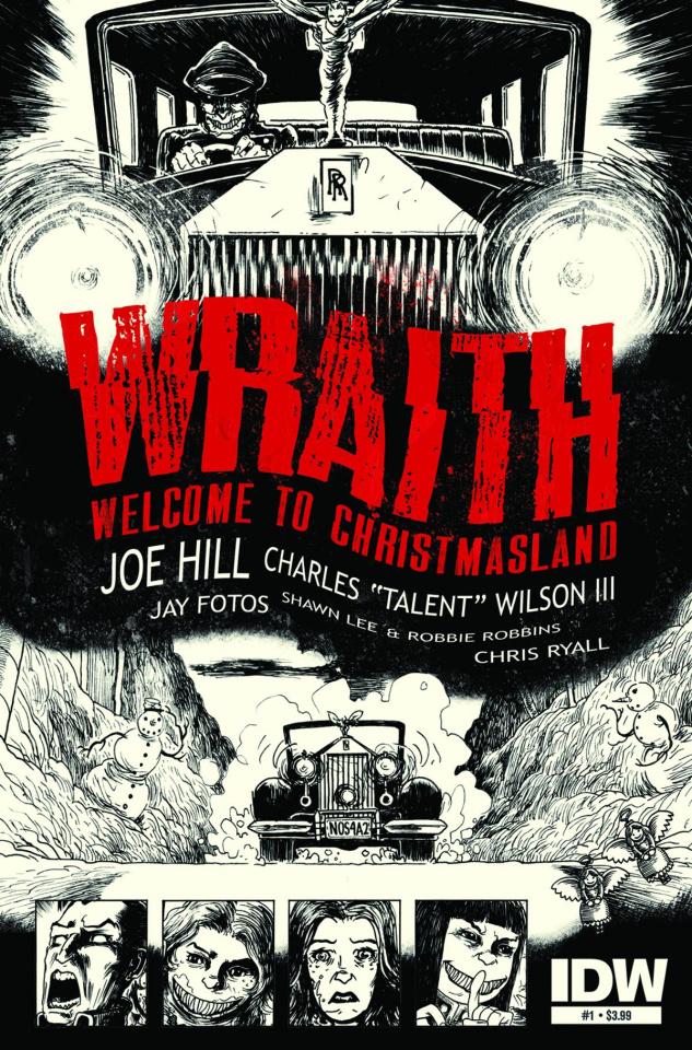 Wraith: Welcome To Christmasland #1 (2nd Printing)