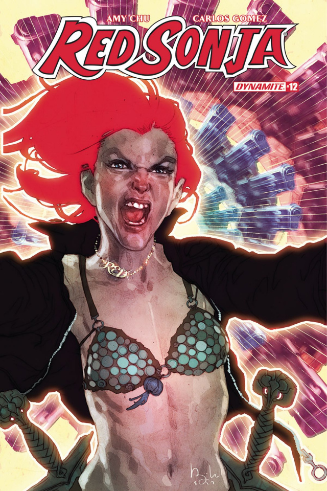 Red Sonja #12 (Caldwell Cover)