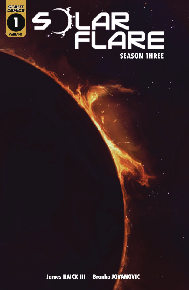Solar Flare, Season 3 #1 (Inkognit 10 Copy Cover)