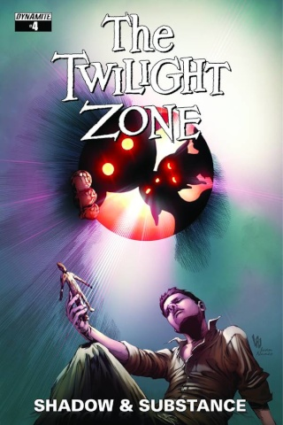The Twilight Zone: Shadow & Substance #4 (Lau Subscription Cover)