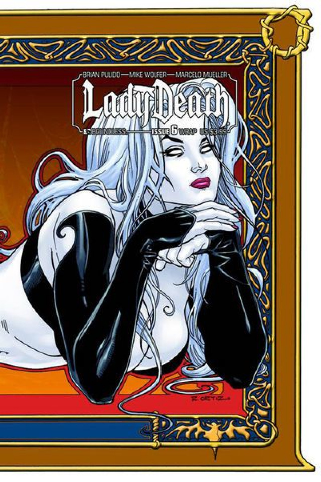 Lady Death #6 (Wrap Cover)