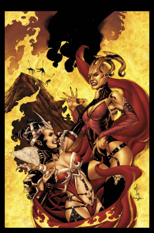 Grimm Fairy Tales: Inferno - The Rings of Hell #1 (Johnson Cover)