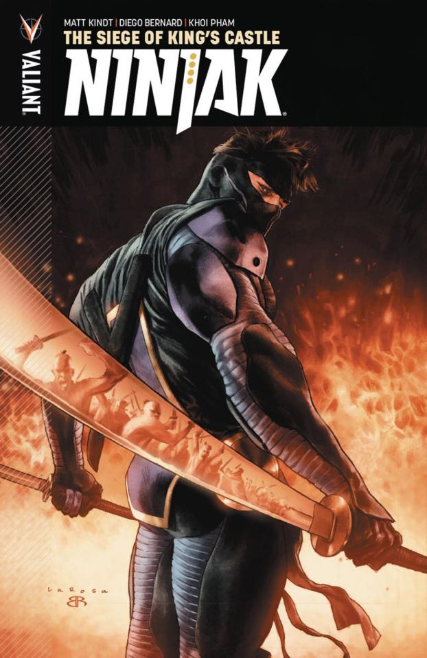 Ninjak Vol. 4: The Siege of King's Castle