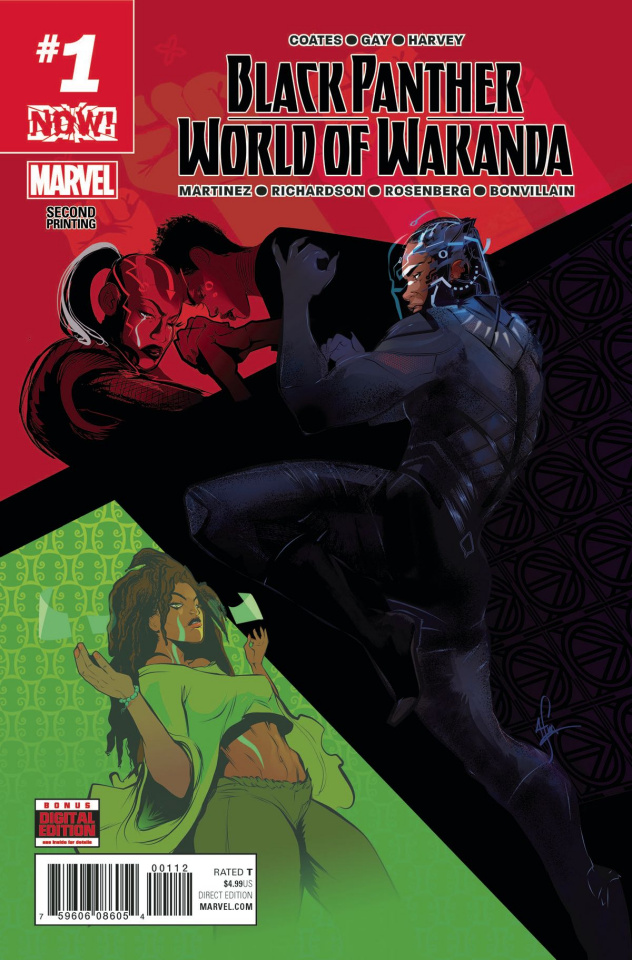 Black Panther: World of Wakanda #1 (2nd Printing Richardson Cover)