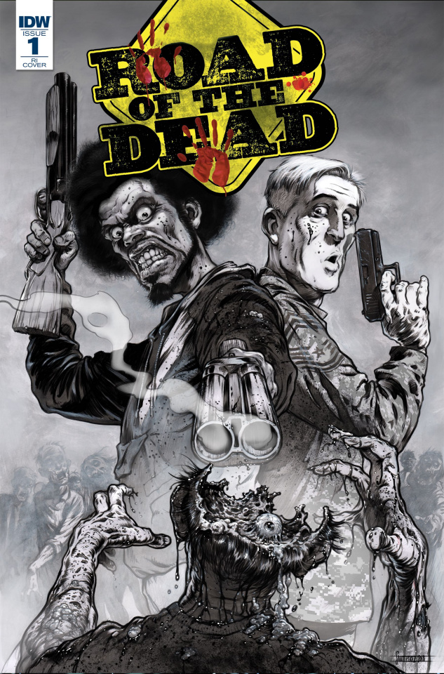 Road of the Dead: Highway to Hell #1 (10 Copy Santiperez Cover)