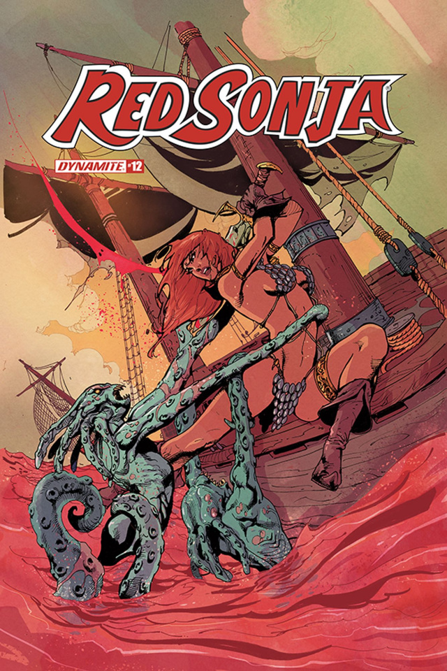 Red Sonja #12 (Castro Bonus Cover)