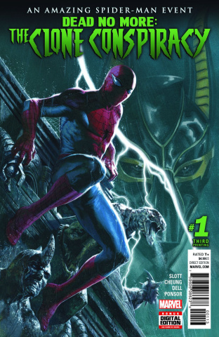 The Clone Conspiracy #1 (3rd Printing Dell'Otto Cover)