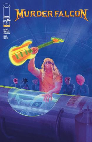 Murder Falcon #6 (Heavy Metal Del Rey Cover)