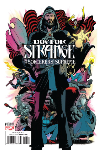 Doctor Strange and the Sorcerers Supreme #1 (Rodriguez Cover)