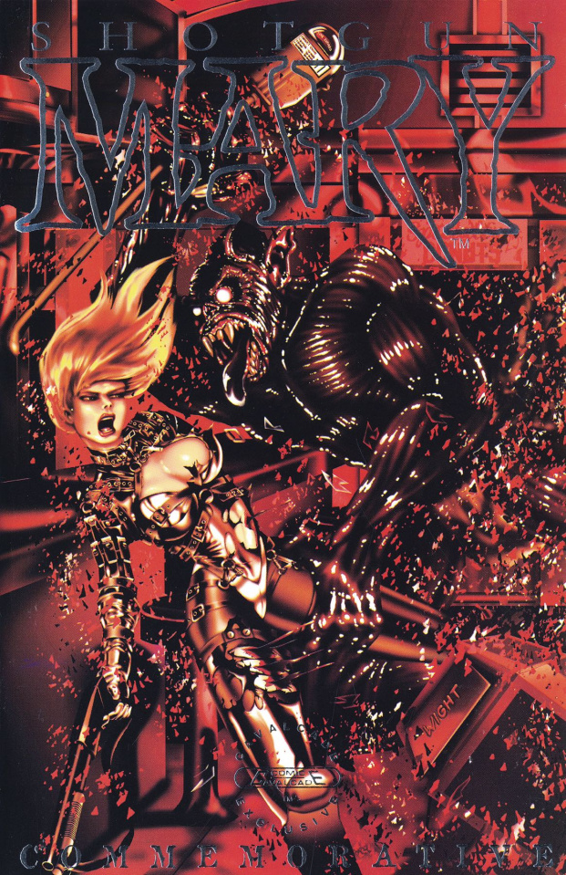 Shotgun Mary #1 (Commemorative Cover)