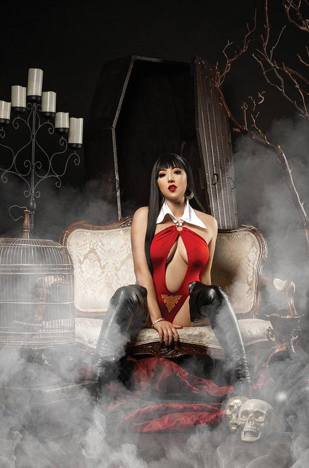 Vengeance of Vampirella #23 (20 Copy Cosplay Virgin Cover)