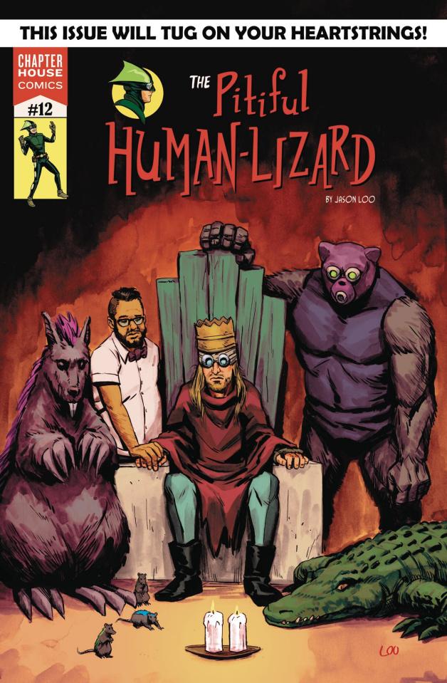 The Pitiful Human-Lizard #12 (Loo Cover)
