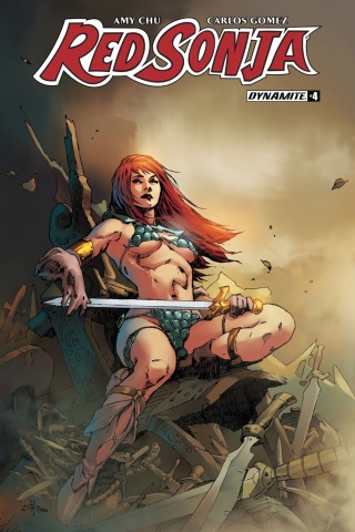 Red Sonja #4 (Rubi Subscription Cover)