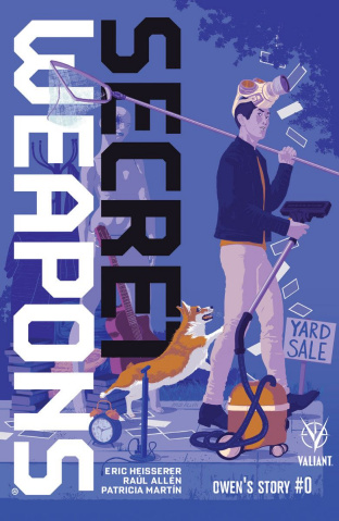 Secret Weapons: Owen's Story #0 (Allen Cover)