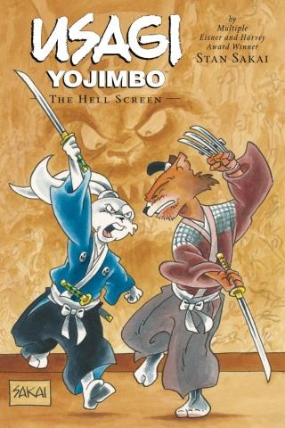 Usagi Yojimbo Vol. 31: The Hell Screen