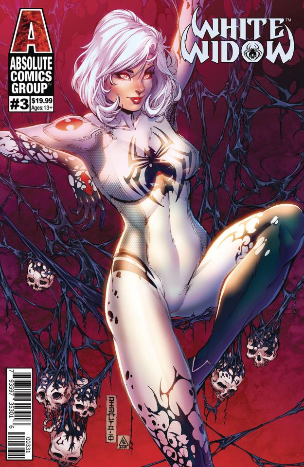 White Widow #3 (Debalfo Lenticular Cover)