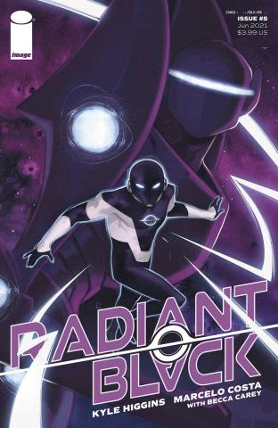 Radiant Black #5 (Greco Cover)