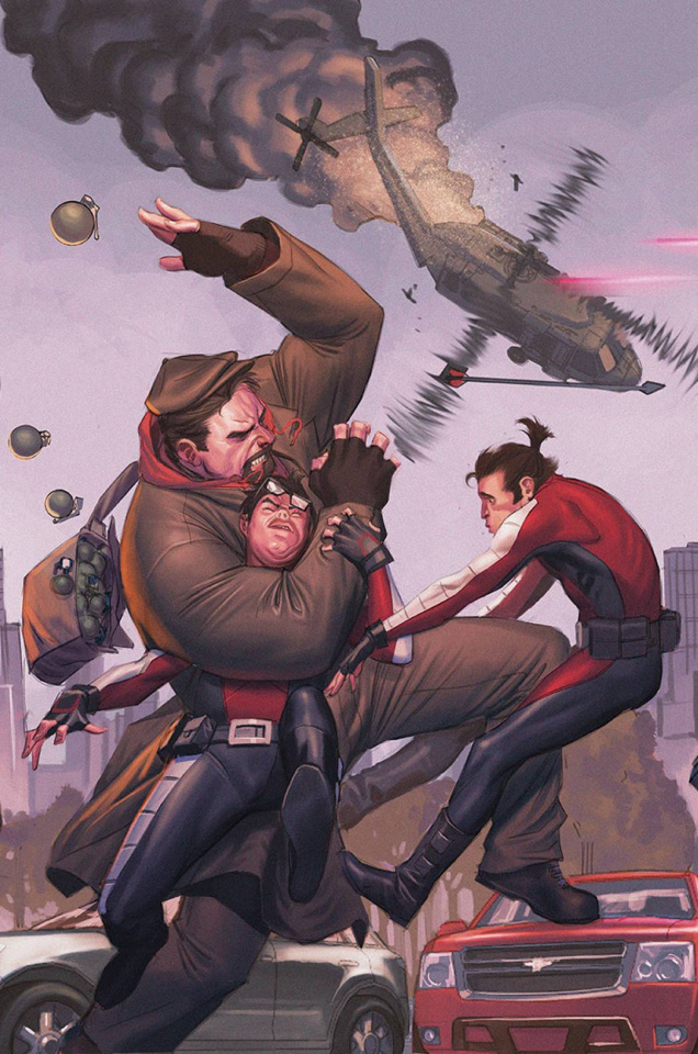 Archer & Armstrong #19 (Molina Cover)