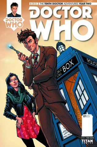 Doctor Who: New Adventures with the Tenth Doctor, Year Two #8 (Nauck Cover)