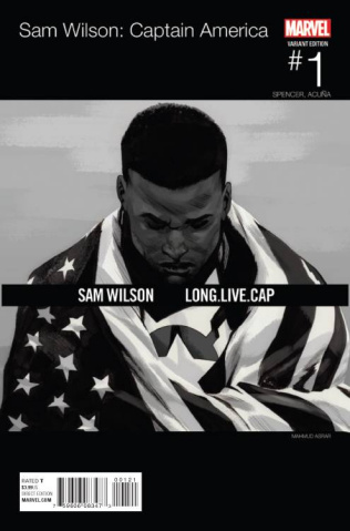 Captain America: Sam Wilson #1 (Asrar Hip Hop Cover)
