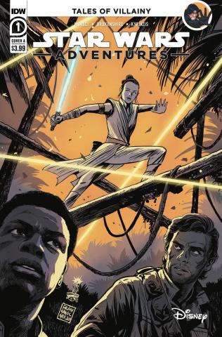 Star Wars Adventures #1 (Francavilla Cover)
