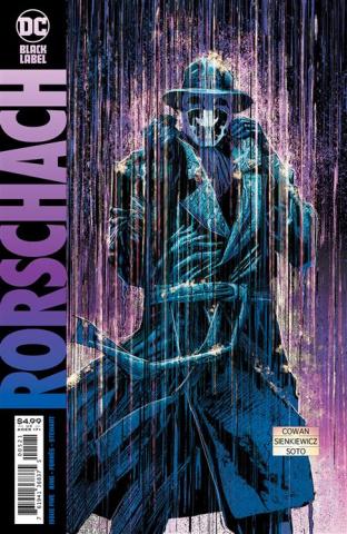 Rorschach #5 (Denys Cowan & Bill Sienkiewicz Cover)