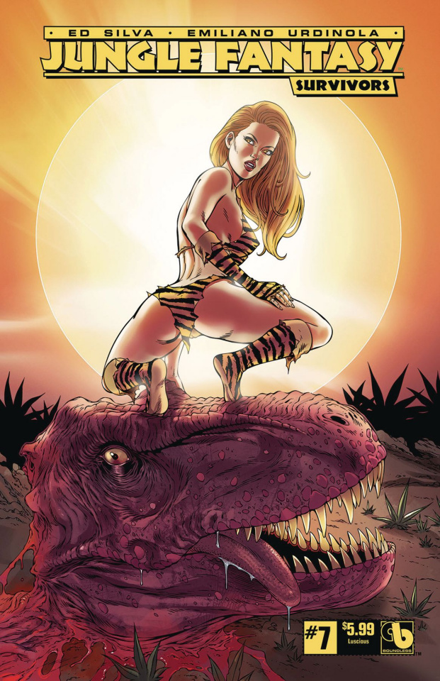 Jungle Fantasy: Survivors #7 (Luscious Cover)