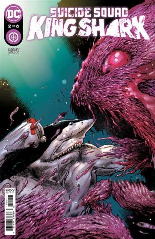 Suicide Squad: King Shark #2 (Trevor Hairsine Cover)