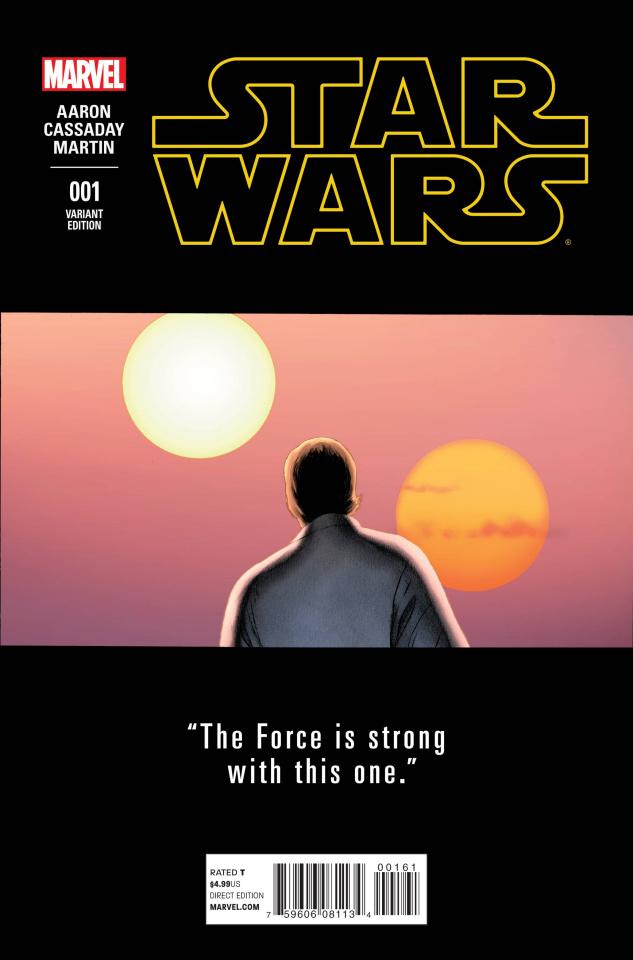 Star Wars #1 (Cassaday Teaser Cover)