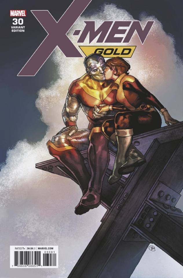 X-Men: Gold #30 (Putri Cover)