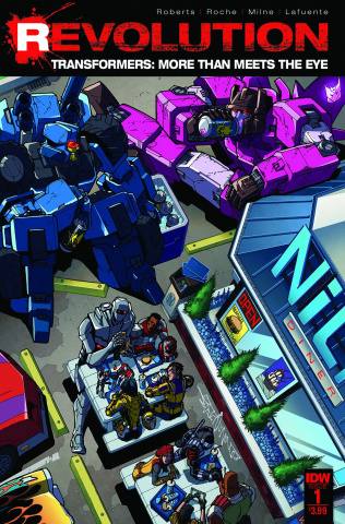 The Transformers: More Than Meets the Eye - Revolution #1