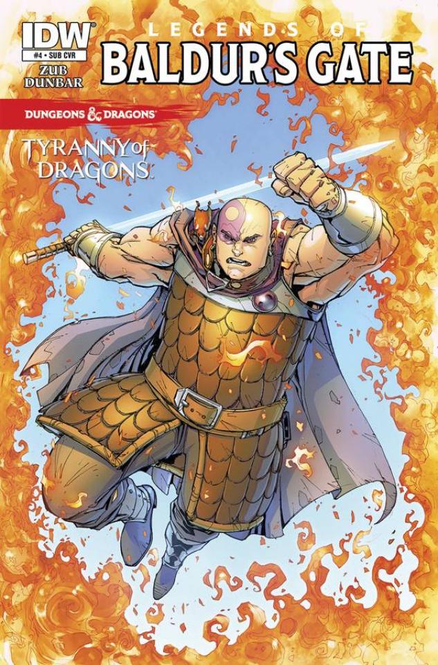 Dungeons & Dragons: Legends of Baldur's Gate #4 (Subscription Cover)