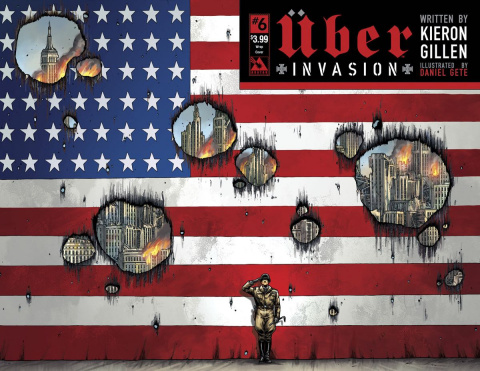 Über: Invasion #6 (Wrap Cover)