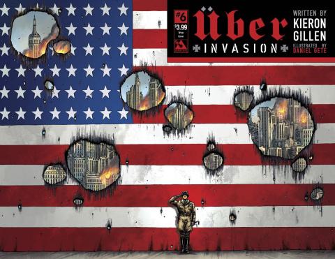 Über: Invasion #6 (Wrap Cover)
