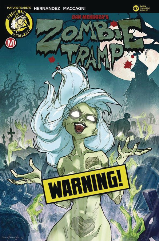 Zombie Tramp #67 (Chimisso Risque Cover)
