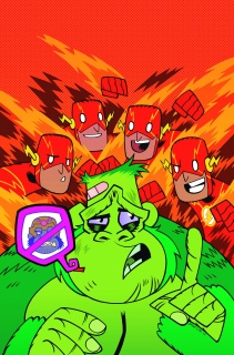 The Flash #42 (Teen Titans Go! Cover)