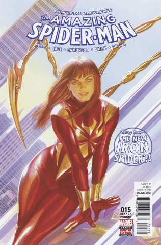 The Amazing Spider-Man #15 (Alex Ross 2nd Printing)