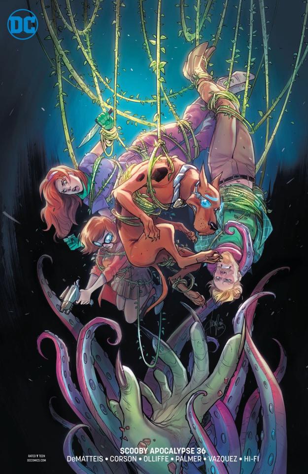 Scooby: Apocalypse #36 (Variant Cover)