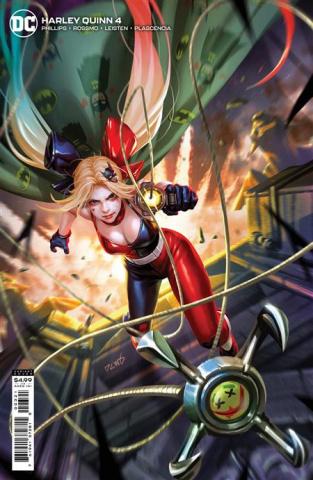 Harley Quinn #4 (Derrick Chew Card Stock Cover)