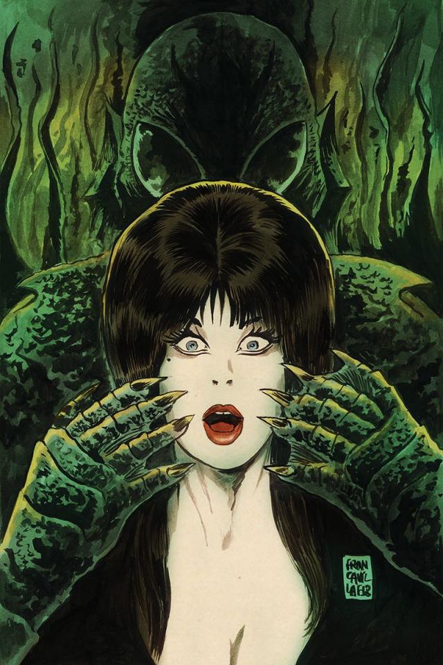 The Shape of Elvira #1 (10 Copy Francavilla Virgin Cover)