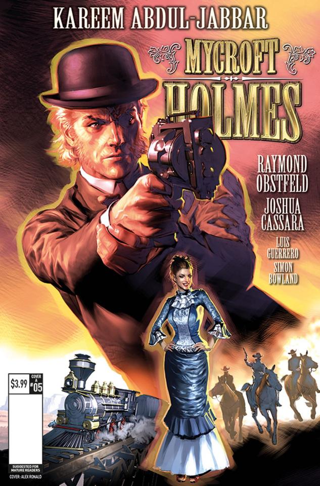 Mycroft Holmes #5 (Ronald Cover)