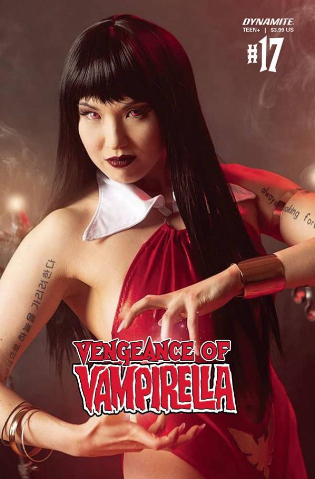 Vengeance of Vampirella #17 (Stalcup Cosplay Cover)