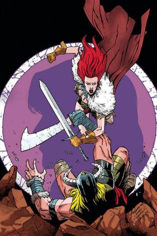 Red Sonja #19 (10 Copy Peeples Homage Virgin Cover)