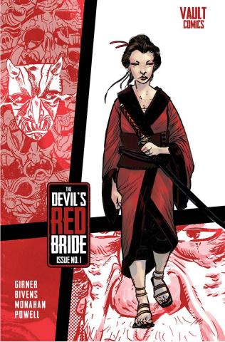 The Devil's Red Bride #1 (Bivens Cover)