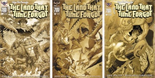 The Land That Time Forgot #1-3 (Antique Cover Set)