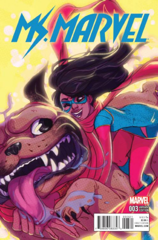 Ms. Marvel #3 (Tarr Cover)